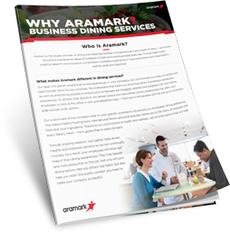 Why Choose Aramark for Business Dining