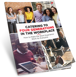 Catering to Four Generations in the Workplace: How to Make the Work Experience Work for Everyone guide